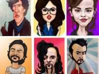 Ünlülerin Karikatür Çizimleri