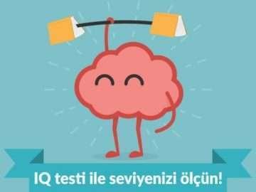IQ testi ile seviyenizi ölçün!