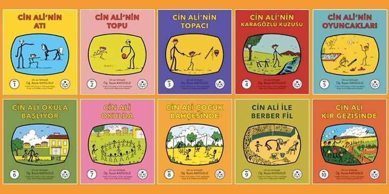 Cin Ali Hikaye Kitapları
