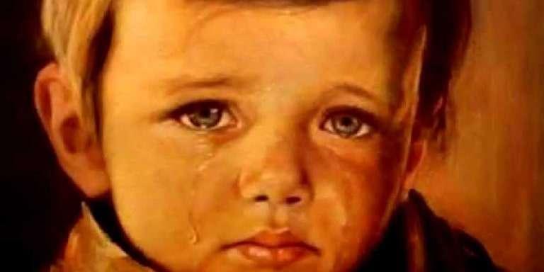 Ağlayan Çocuk Tablosu