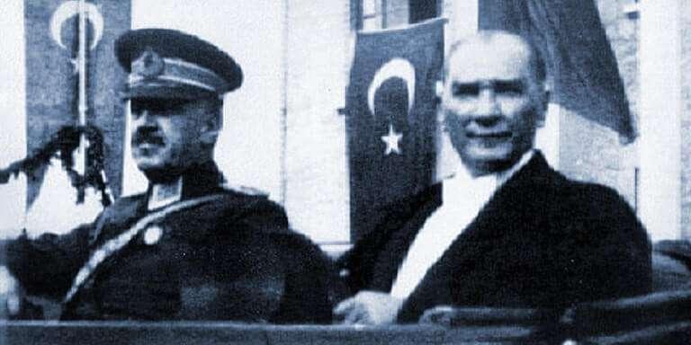 Mareşal Fevzi Çakmak Atatürk İle Beraber