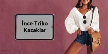 İnce Triko Kazaklar