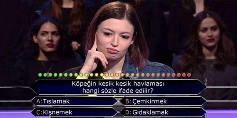 kim milyoner olmak ister testi