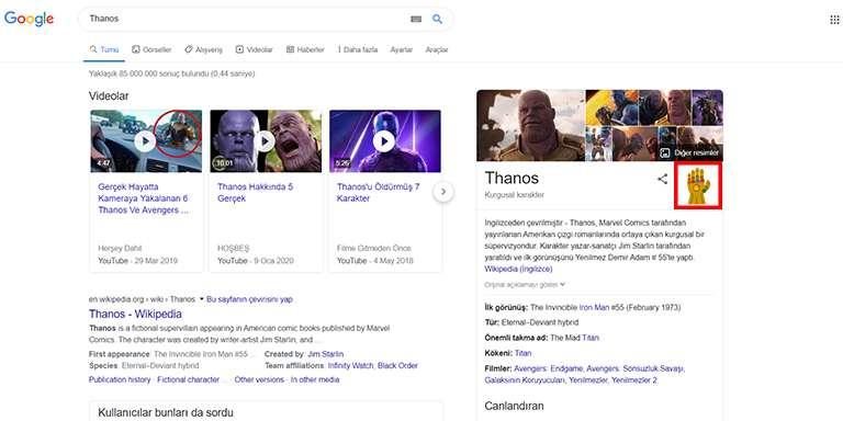 Google Arama Motorunun Az Bilinen Eğlenceli Özellikleri