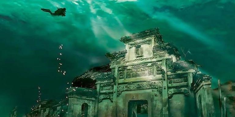 Okyanusun Derinliklerinde Kalmış Kayıp Su Altı Şehirleri