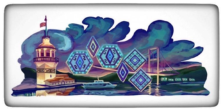 Türkiye İçin Tasarlanmış En İyi Google Doodle'ları