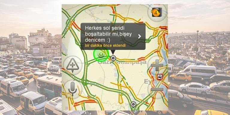 Trafikte Sıkıntıdan Patlayan Sürücülerin Yaptığı Komik Yorumlar