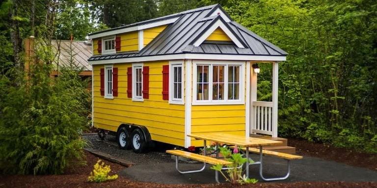 Küçük Alanda Büyük Mutluluk Yaşatan Tiny House Tasarımları