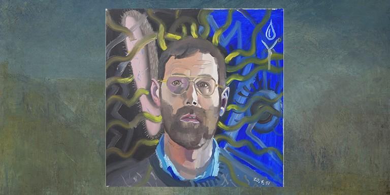 Şizofrenik Ressam Bryan Charnley'in Hastalığını Betimlediği Otoportreleri