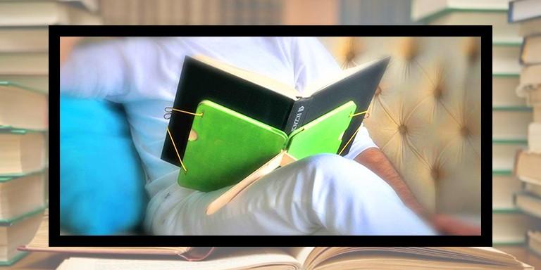 Kitap Okuma Süreçlerini Kolaylaştırmak İçin Tasarlanan Minimal Ürünler